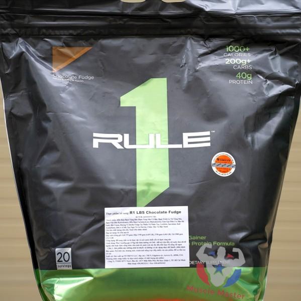 Thực Phẩm Bổ Sung Dinh Dưỡng Rule 1 Mass LBS 5.4Kg (12Lbs) giá rẻ