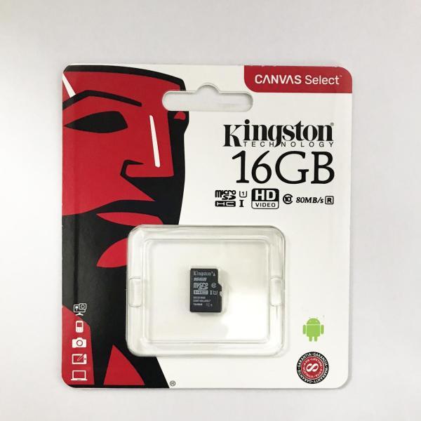 Thẻ nhớ micro SD kingston 16GB class 10 - P.Phối bởi FTT/Vĩnh xuân