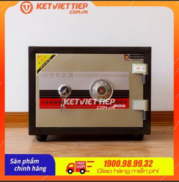 Két Sắt Việt Tiệp K255-NC-Công ty két sắt Việt Tiệp - Hãng phân phối trực tiếp