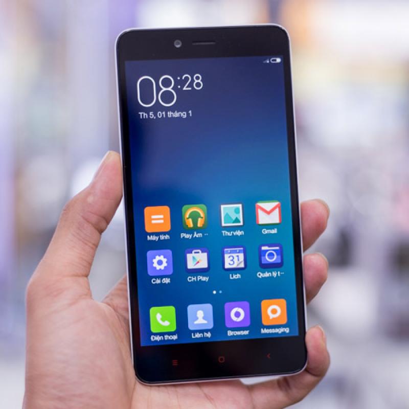 Xiaomi Redmi Note 2 giá rẻ cấu hình mạnh chơi game mượt