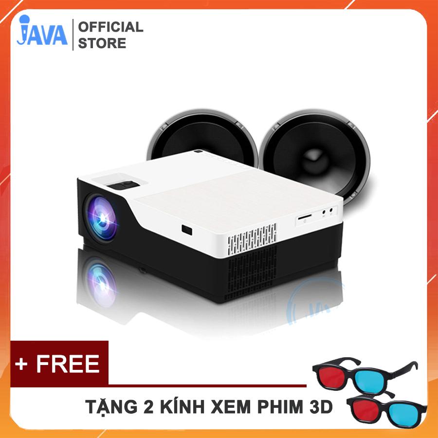 Mã Khuyến Mãi tại Lazada cho [TẶNG KÈM 2 MẮT KÍNH 3D] Máy Chiếu LED Full HD F175 - Hình ảnh Tuyệt Vời - Âm Thanh Sống động - Cường độ Sáng 5500 Lumens - JAVA Shop