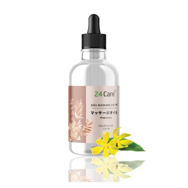 Dầu massage gợi cảm cho NAM, NỮ nguồn gốc thảo dược 24Care 30ml - dưỡng ẩm da, tuần hoàn máu