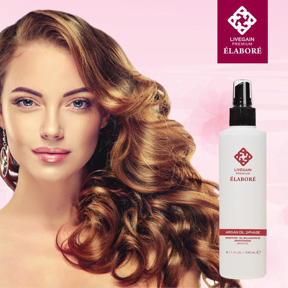 Nước xịt dưỡng tóc 2 lớp Argan Oil 2- Phase 240ml Hàn Quốc giá rẻ