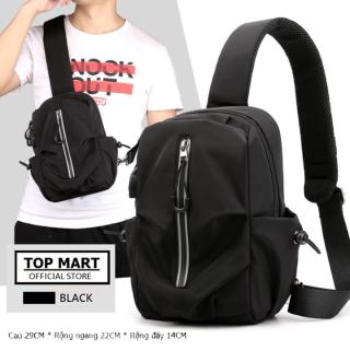 Túi đeo chéo nam vải nylon chống nước phong cách trẻ trung cá tính - Balo nam mini Hàn Quốc thumbnail