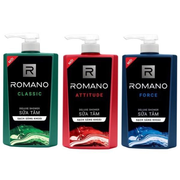 SỮA TẮM - NAM - romano -650 ml (đảm bảo chất lượng và sự uy tính) giá rẻ