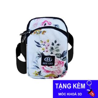 ( TẶNG MGG 10K + COCA + FREESHIP ĐƠN 30K ) Túi đeo chéo nữ thời trang họa tiết dễ thương BEE GEE 096 thumbnail