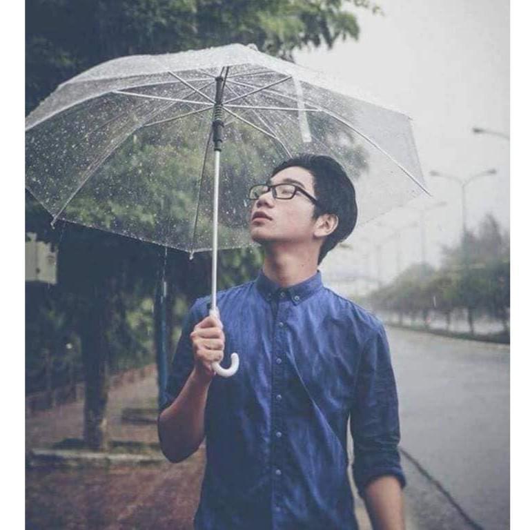 Ô che mưa trong suốt, dù cầm tay hcm, BIGSALE lên tới 50% chỉ trong ngày HÔM NAY