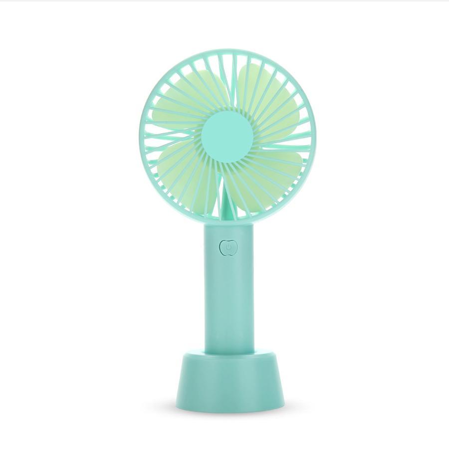 [Tặng Chân đế Giữ Quạt] Quạt Mini Tích điện Có Chân để Bàn Tiện ích - 3 Mức độ Gió Siêu Mát SS-2 Giá Siêu Cạnh Tranh