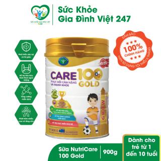 Sữa NutriCare 100 Gold 900g (cho trẻ từ 1 10 tuổi) thumbnail