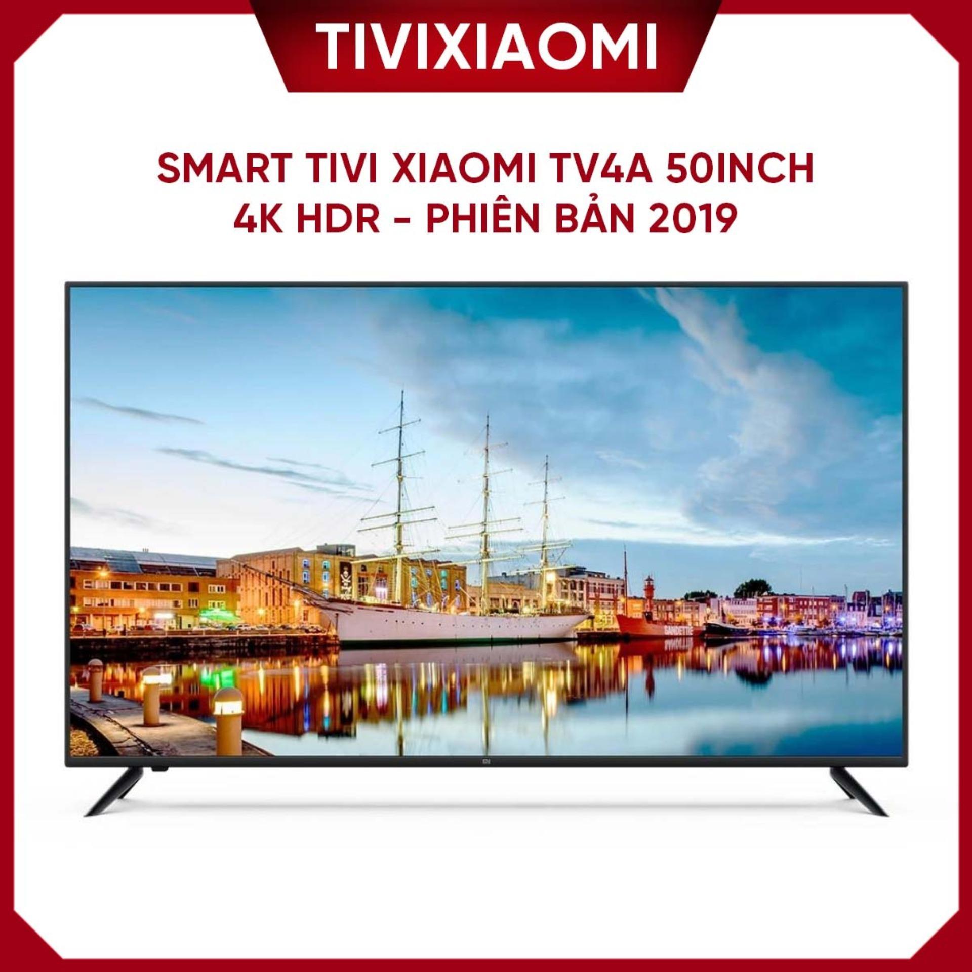 Bảng giá Smart Tivi Xiaomi TV4A 50inch 4k HDR - Phiên bản 2019 hỗ trợ điều khiển giọng nói Tiếng Việt