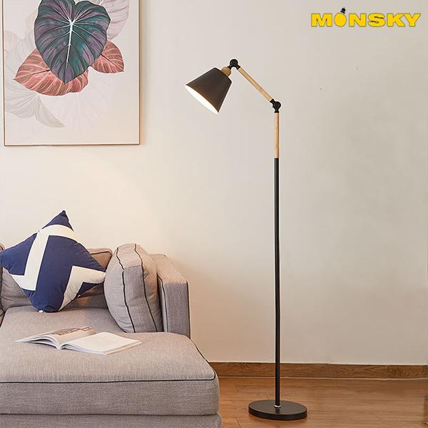 Đèn đứng để sàn MONSKY DC003 trang trí nội thất - kèm bóng LED chống lóa cận.
