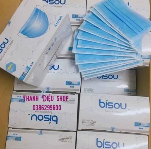 Combo 2 hộp Mask 4 lớp kháng khuẩn (hộp 50c)