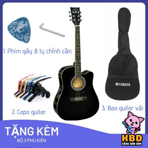 Đàn guitar MORRISON MGW 405BK/CBK + tặng kèm bao đàn 1 lớp + capo + pick và ty chỉnh cần- Hàng nhập khẩu có sẵn tại Việt Nam