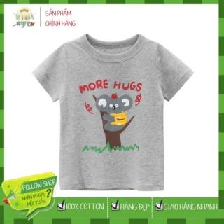 [ VIDEO ] A533 Áo thun bé trai 27KIDS chất liệu 100% cotton in hình KOALA cho bé từ 10-33kg (2 tuổi -10 tuổi ) an toàn mềm mịn thích hợp cho bé đi học đi chơi thumbnail