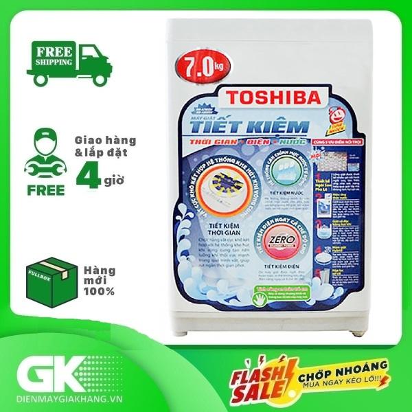 Bảng giá Máy giặt cửa trên TOSHIBA AW-A800SV(WB) 7 kg, mâm giặt Hybrid Powerful, lồng giặt thiết kế thoát nước nhanh - Bảo hành 24 tháng Điện máy Pico