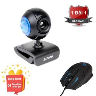 ( Tặng kèm chuột máy tính chất lượng cao K059 ) Webcam tích hợp Micro cho máy tính, PC, Laptop A4tech 752F - Webcam học online tại nhà A4tech PK-752F - Webcam online kèm Micro 752F thumbnail