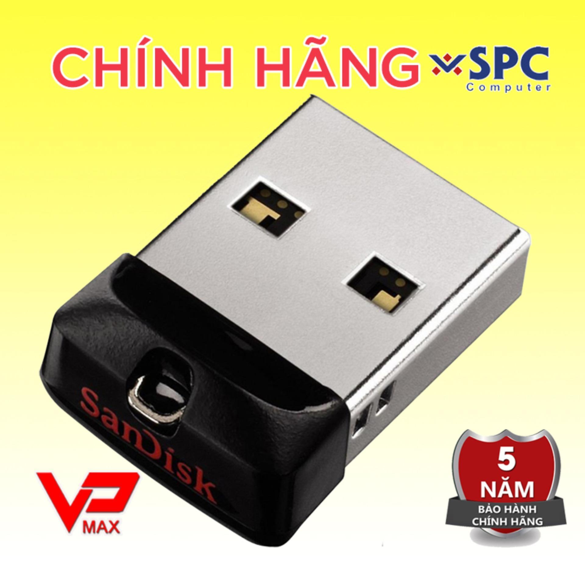 Giá Quá Tốt Để Có USB 32GB / 16GB Sandisk CZ33 Mini Cho Xe Hơi Bảo Hành 5 Năm