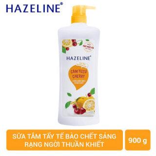 Sữa Tắm Hazeline Tẩy Tế Bào Chết Cam Cherry 900 g thumbnail