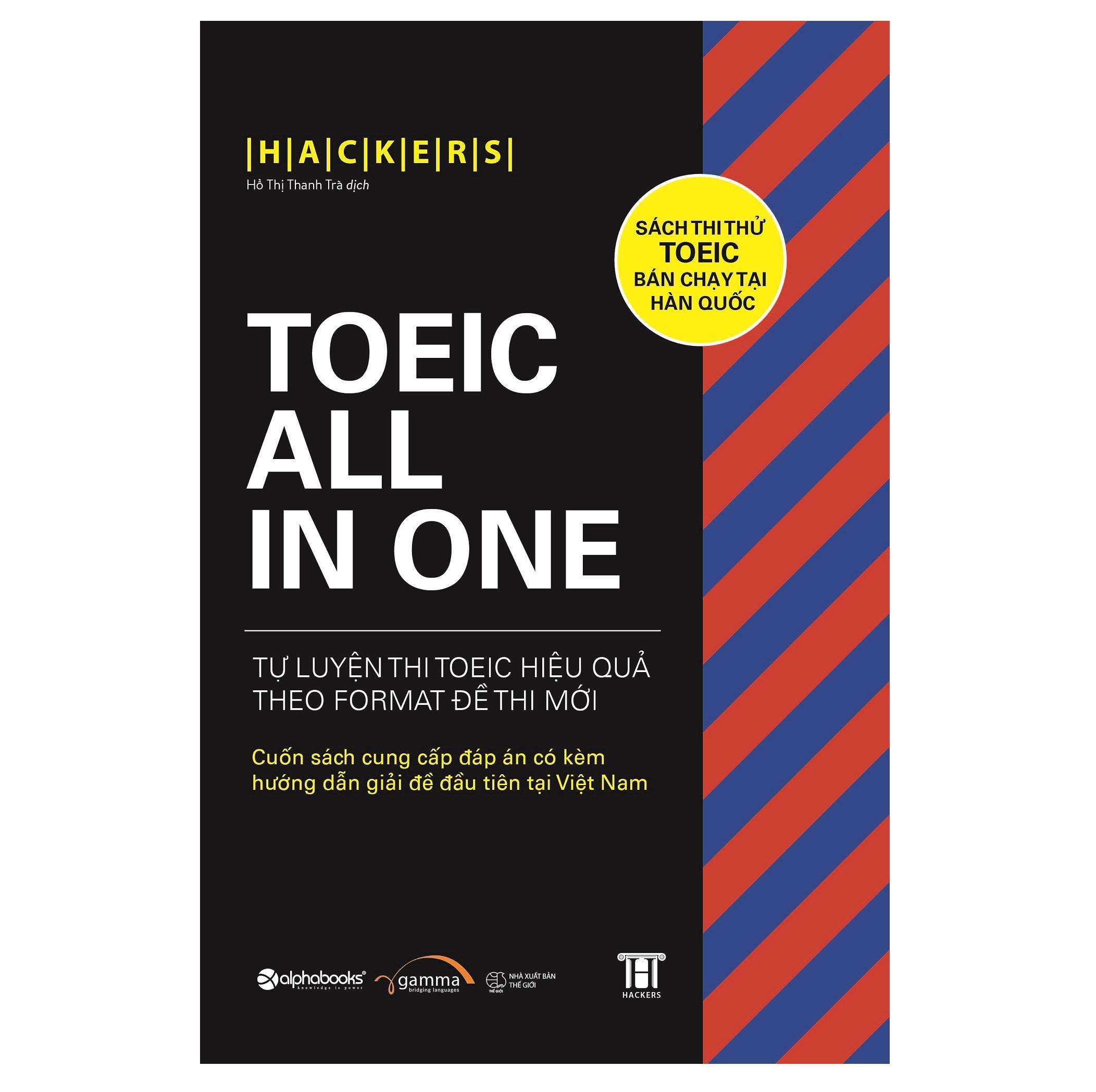 Giá Tiết Kiệm Để Sở Hữu Ngay Sách Học Tiếng Anh - TOEIC ALL-IN-ONE LC+RC