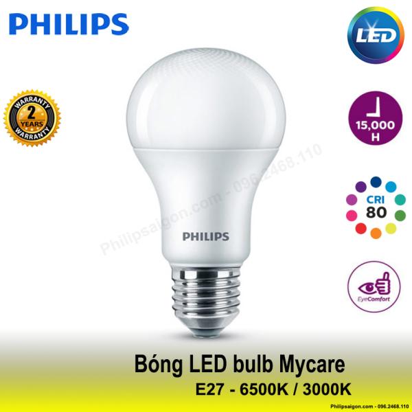 Bóng đèn Philips LEDBulb 12W / 10W / 8W / 6W E27 6500K/3000K 230V A60 1CT/12 APR, nhiều công suất, 2 màu ánh sáng để chọn - PhilipSaigon