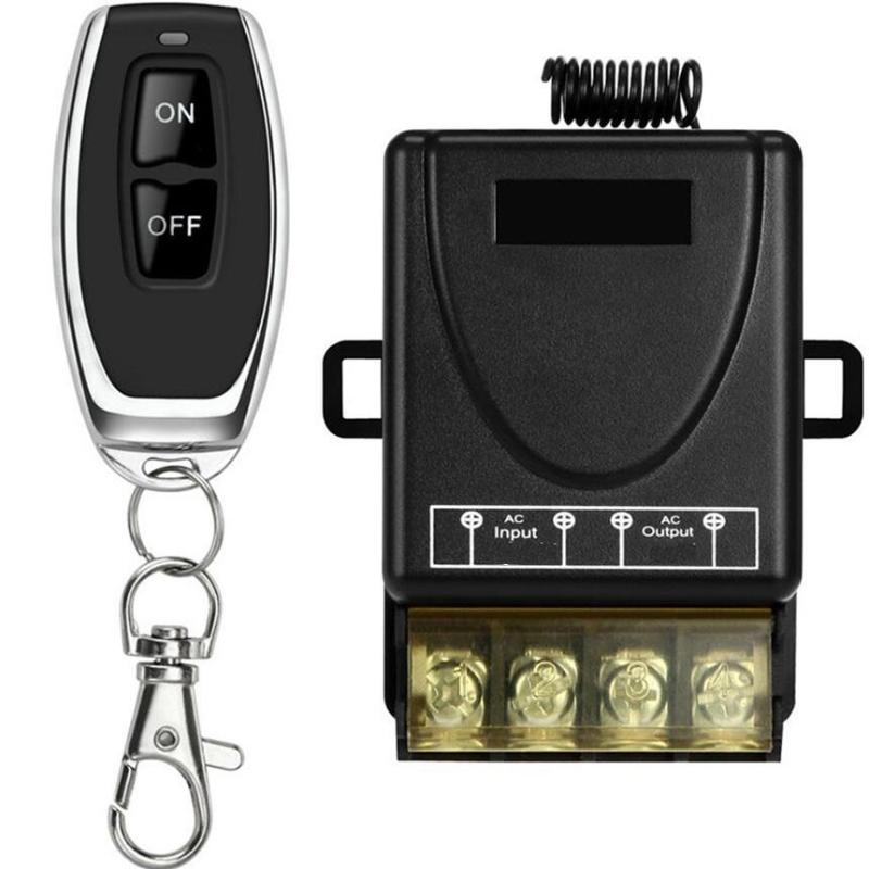 Bộ công tắc điều khiển từ xa, Công tắc điều khiển tắt mở, Công tắc điều khiển thông minh-giúp bạn điều khiển đóng ngắt thiết bị điện từ xa như: đèn, quạt, máy bơm nước...với khoảng cách điều khiển lên tới 100m, công suất