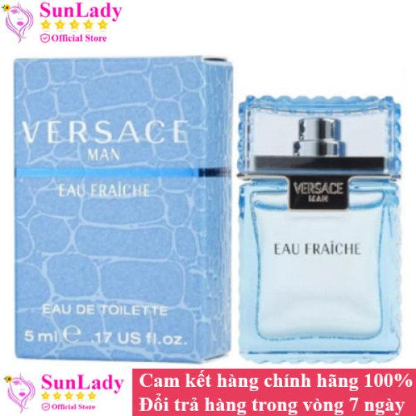 [ mini ] Nước hoa Versace Man Eau Fraiche EDT 5ml chính hãng