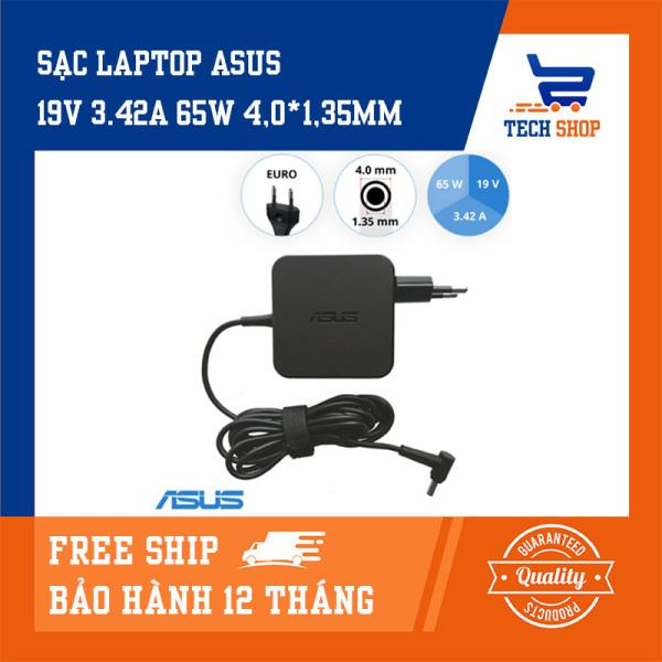 Bảng giá [FreeShip]Sạc laptop asus giá rẻ TechShop công suất 19V 3.42A 65W 4.0*1.35mm dùng cho Asus A412FA X541U X553M S533 S533EQ K513 K513FF K513EQ UX434 S433EA S433EQ S433JQ UX363JA X412FL UX334FLC UX463FA UX463FL X556UJ UX434FQ UM433IQ Phong Vũ