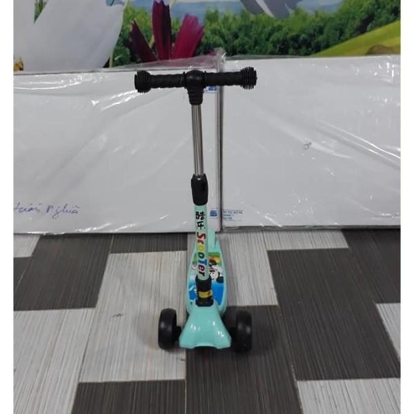 Mua [NHẬP TOY30K GIẢM] Xe trượt Scooter Bánh to hàng Cao cấp (có giảm xóc + phanh chân + điều chỉnh cao thấp)