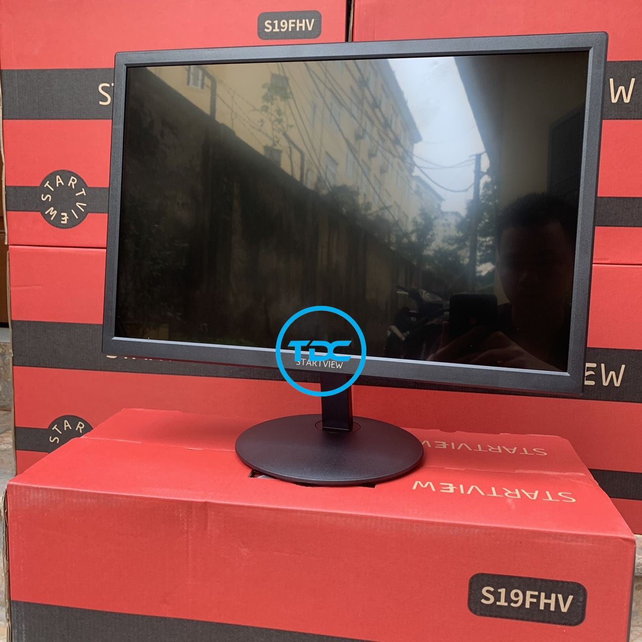 """Màn hình Startview 18.5"""" S19FHV; màn hình máy tính 19 inch, màn hình vi tính chính hãng. HÀNG CHÍNH HÃNG . BẢO HÀNH 2 NĂM"""