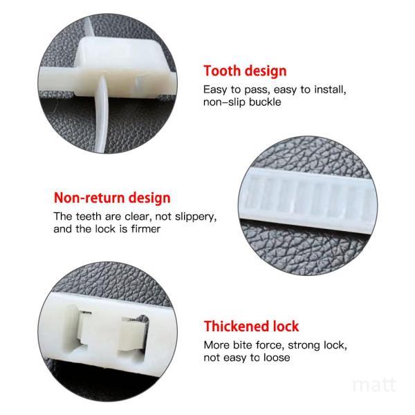 Mua 10 cái Flex Double Cuff Hạn chế dùng một lần Zip Tie Cuff Tự khóa Cuff Đen xHEVScbR