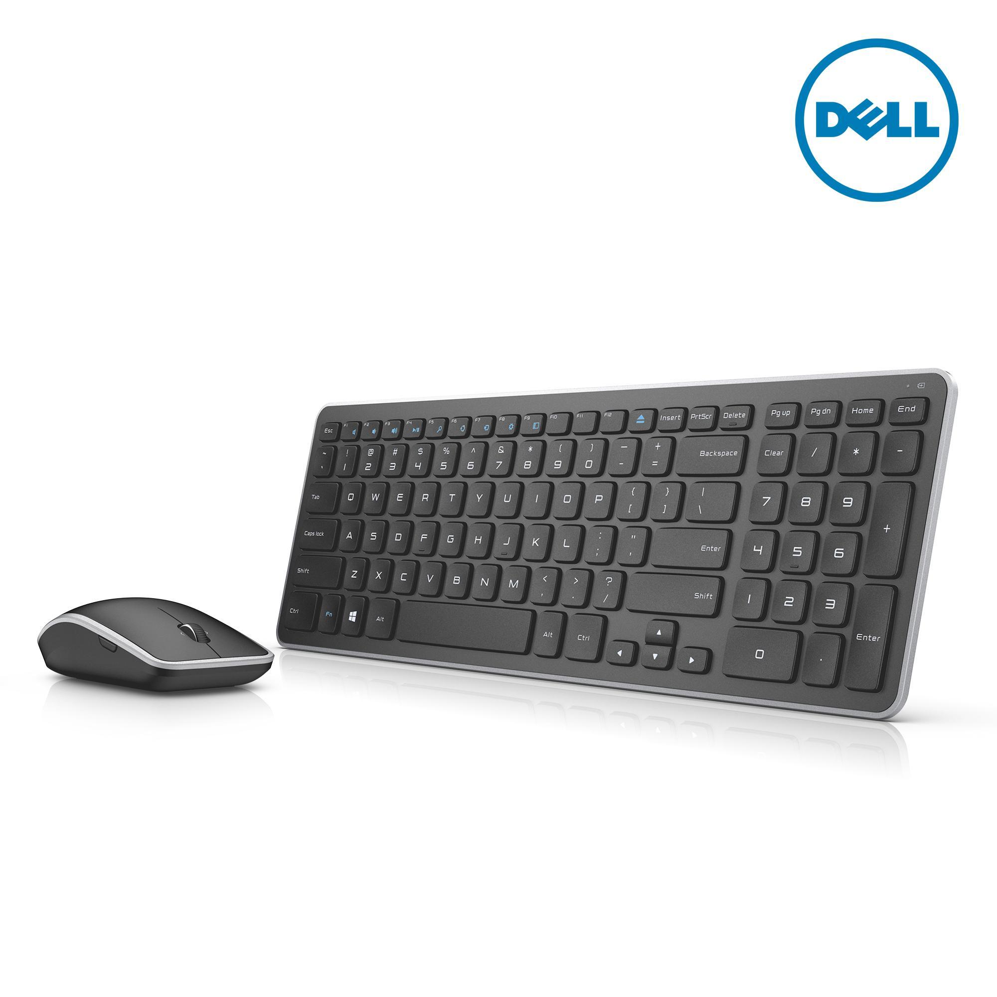 Bộ bàn phím mouse không dây DELL Wireless Keyboard and Mouse - KM714