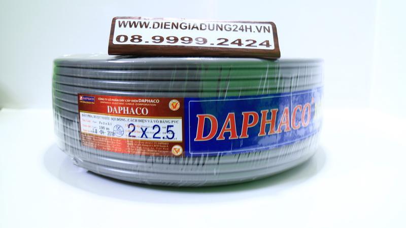 CÁP XÁM DAPHACO 2 x 2.5