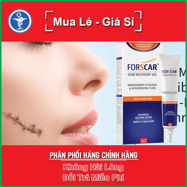 Gel Lành Sẹo Forscar - Scar Recovery Gel cao cấp đến từ Châu Âu Tuýp 10g - yespharmacy giá rẻ