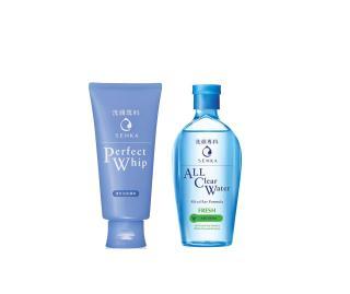 Combo 2 sản phẩm Nước tẩy trang Senka A.L.L.Clear Water Fresh 230ml và Sữa Rửa Mặt Tạo Bọt Chiết Xuất Tơ Tằm Trắng Senka 120g thumbnail
