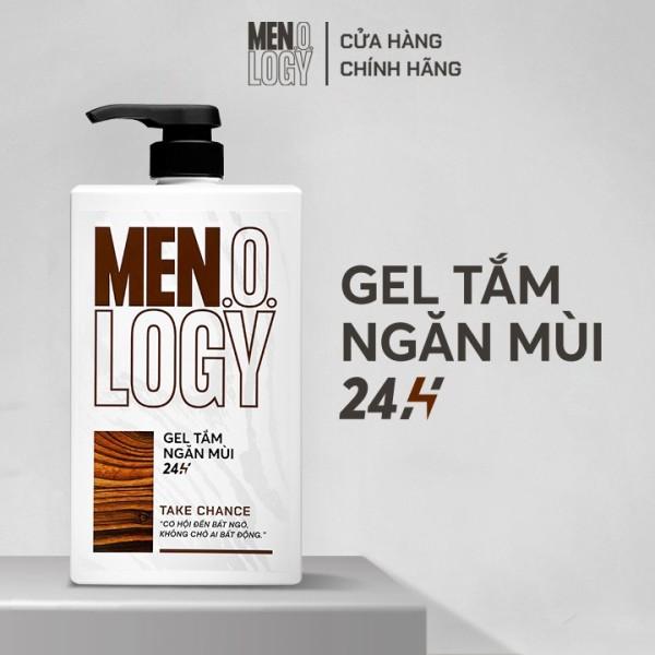 Gel Tắm MEN.O.LOGY Ngăn Mùi 24h Take Chance 630ml giá rẻ