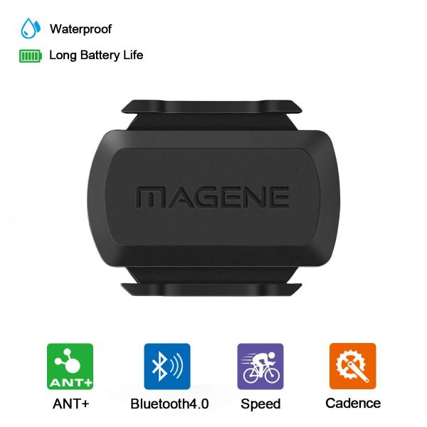 Phân phối MAGENE S3+ Bike Speed And Cadence 2-in-1 Sensor Speed Sensor Cadence Ant+ Bluetooth For Strava Garmin Bryton Bike Bicycle Computer Upgrade From MAGENE Gemini 210