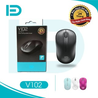 Chuột không dây Wireless FD V102 Pin dùng 12T - BH 12 tháng thumbnail