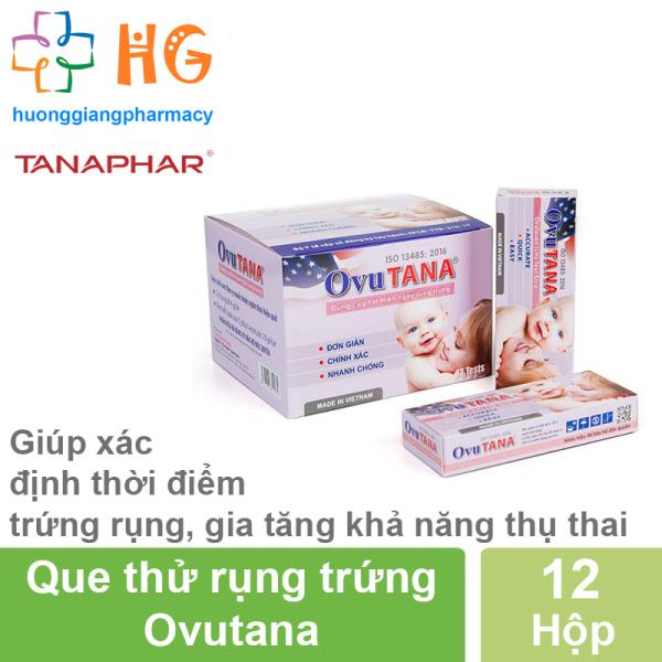 Que thử rụng trứng Ovutana (Hộp 12 Que)