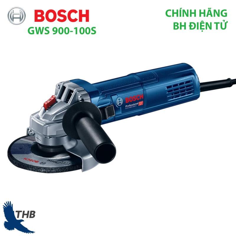 Máy mài góc Máy cắt cầm tay Bosch GWS 900-100 S Công suất 900W Bảo hành điện tử 12 tháng