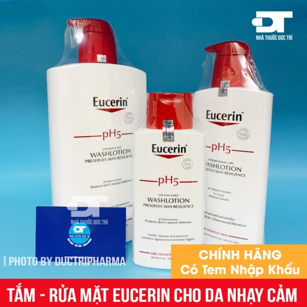 Sữa Tắm EUCERIN PH5 WASHLOTION Cho Da Nhạy Cảm