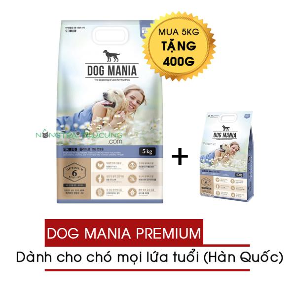 Thức ăn hạt cho chó mọi lứa tuổi Dog Mania Premium (nhập khẩu Hàn Quốc) - [Nông Trại Thú Cưng]