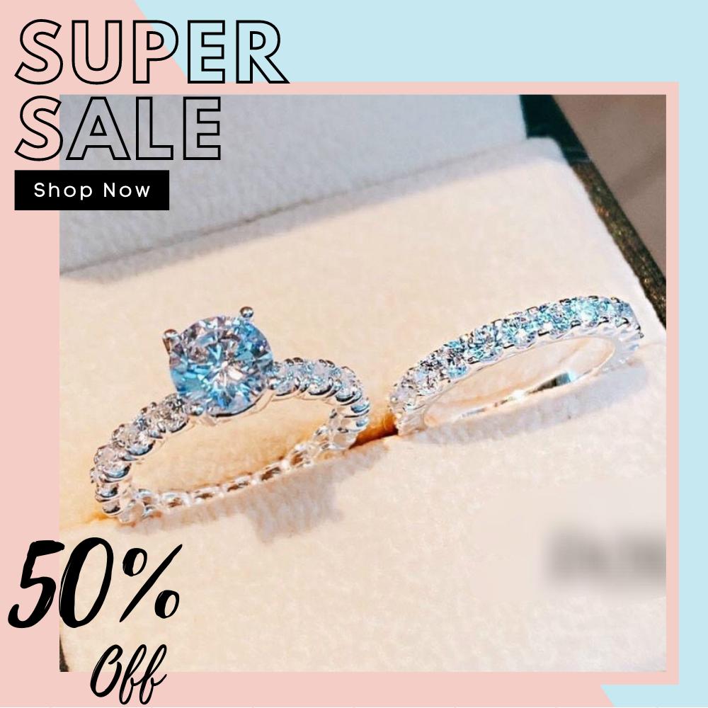 [HCM]Nhẫn nữ đẹp nhẫn đính kim cương nhân tạo nhẫn vàng trắng xi kim nhẫn bạc ta mạ bạch kim gắn đá pha lê  thời trang nữ Trang Sức Miga N077 - đeo đi đám cưới vô cùng quý phái