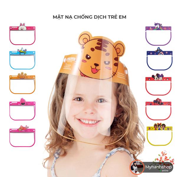 Giá bán Kính chống giọt bắn phòng dịch cho bé - Lựa chọn nhiều màu sắc hình dáng cho bé