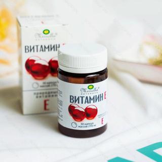 Viên Uống Trắng Da Vitamin E Đỏ Mirrolla của Nga (Hộp 30 viên) thumbnail
