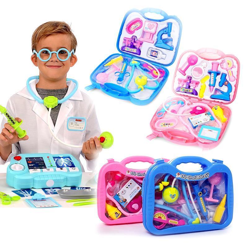 Trọn bộ vali đồ chơi bác sĩ, y tá đặc biệt cho bé (loại lớn)