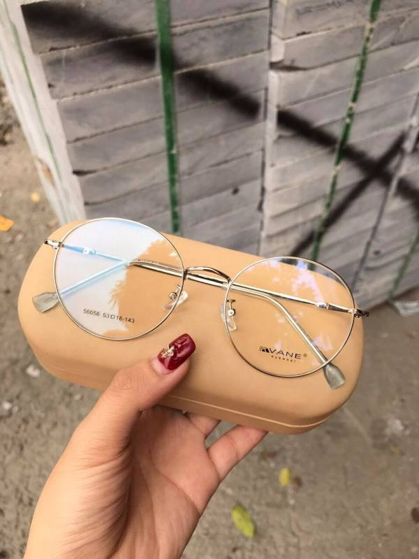 Giá bán Gọng kính VANE tròn Nam - Nữ màu trắng