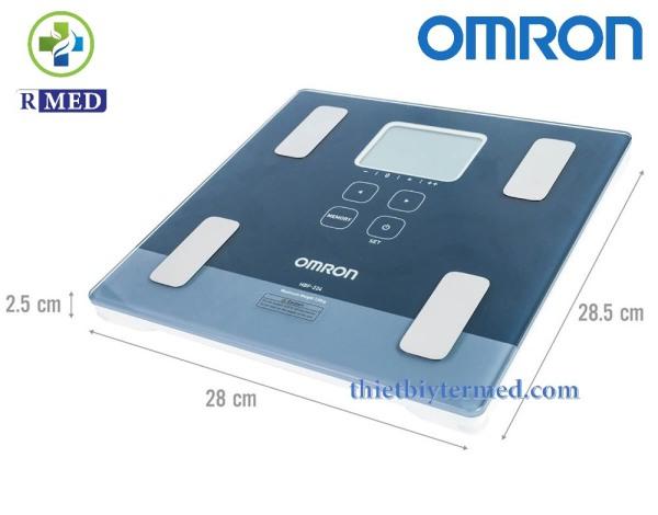 [Chính hãng 100%] Omron HBF 224 - Máy đo lượng mỡ cơ thể - Bảo hành 3 năm chính hãng