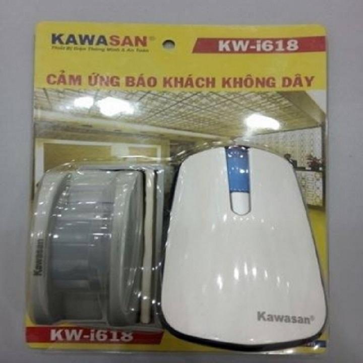 Chuông Báo Khách Không Dây KAWASAN KWI618 Cảm Ứng HỒNG NGOẠI