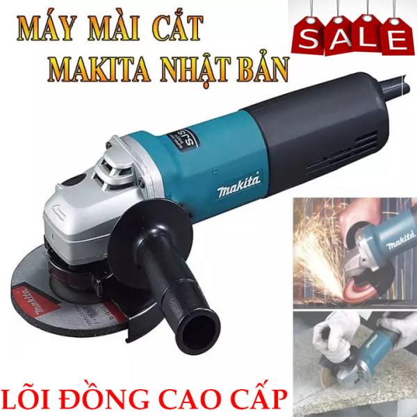 Máy Mài Makita Nhật Bản - Máy mài Makita công suất lớn -Máy cắt gạch cầm tay - Lõi đồng 100% -Thiết kế nhỏ gọn, Tiện lợi -  Bảo hành 12 tháng toàn quốc