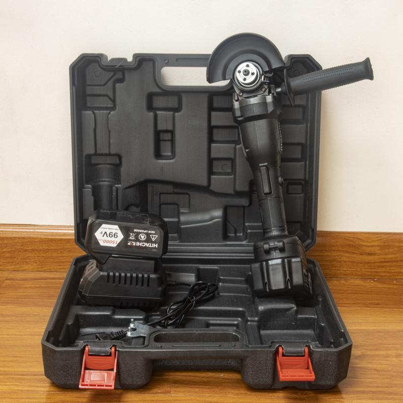 Máy mài pin HITACHI 99Vf không chổi than - máy mài góc pin động cơ từ - máy mài pin - máy cắt cầm tay - máy đánh bóng - máy mài góc - máy mài cầm tay - máy cưa - máy cắt sắt - máy cắt gỗ - máy cắt cây
